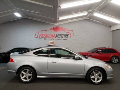 2004 Acura RSX for sale at Premium Motors in Villa Park IL