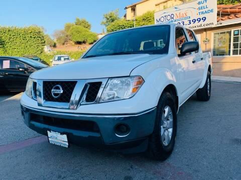 2011 Nissan Frontier for sale at MotorMax in Lemon Grove CA
