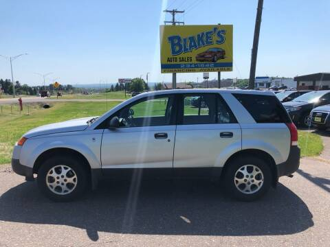 2003 Saturn Vue for sale at Blake's Auto Sales in Rice Lake WI