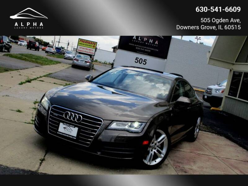 2012 Audi A7 for sale at Alpha Luxury Motors in Downers Grove IL