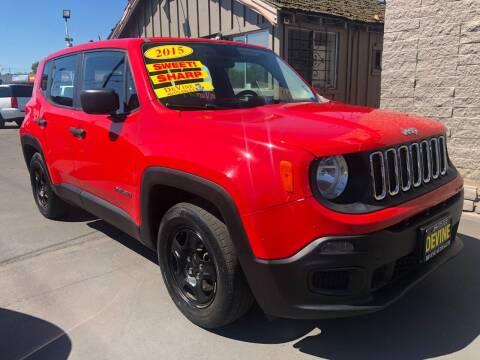 2015 Jeep Renegade for sale at Devine Auto Sales in Modesto CA