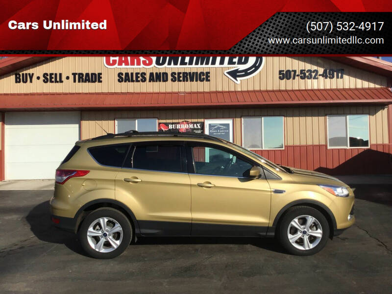 2014 Ford Escape for sale at Cars Unlimited in Marshall MN