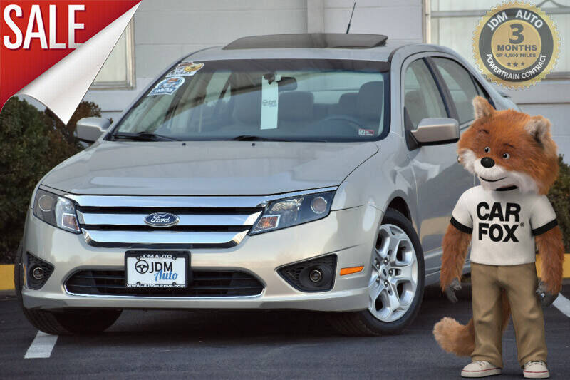 2010 Ford Fusion for sale at JDM Auto in Fredericksburg VA