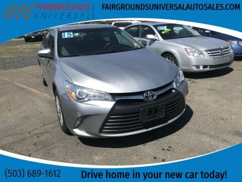 2015 Toyota Camry for sale at Universal Auto Sales in Salem OR