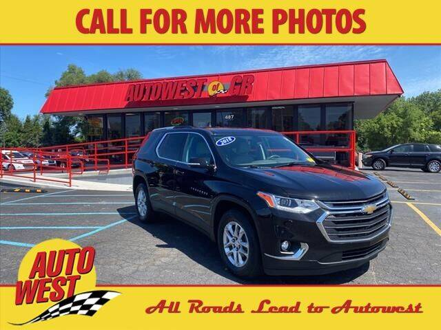 2018 Chevrolet Traverse for sale at Autowest of Plainwell in Plainwell MI