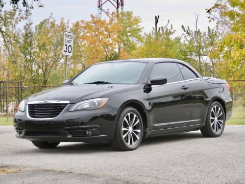 2011 Chrysler 200 Convertible for sale at Tonys Pre Owned Auto Sales in Kokomo IN