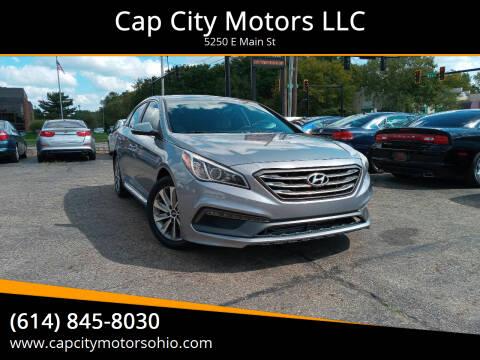 2016 Hyundai Sonata for sale at Cap City Motors LLC in Columbus OH