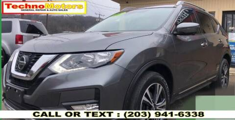 2018 Nissan Rogue for sale at Techno Motors in Danbury CT