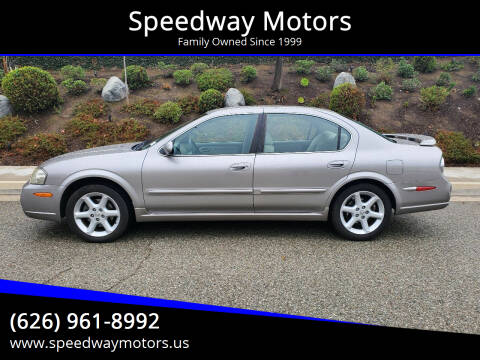 2002 Nissan Maxima for sale at Speedway Motors in Glendora CA