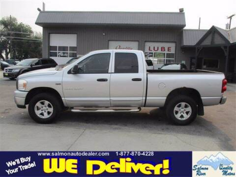 2007 Dodge Ram Pickup 1500 for sale at QUALITY MOTORS in Salmon ID