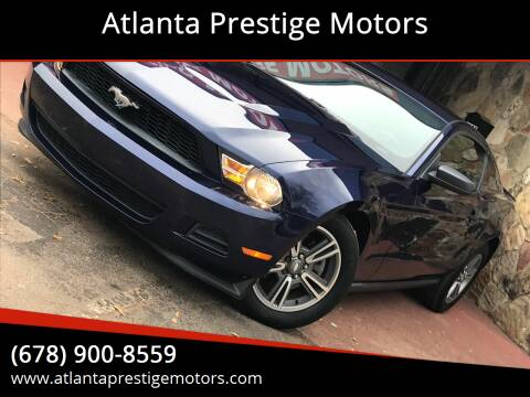 2011 Ford Mustang for sale at Atlanta Prestige Motors in Decatur GA