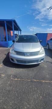 2009 Nissan Versa for sale at Juniors Auto Sales in Tucson AZ