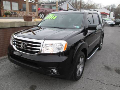 2013 Honda Pilot for sale at WORKMAN AUTO INC in Pleasant Gap PA