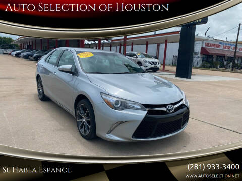 2017 Toyota Camry for sale at Auto Selection of Houston in Houston TX