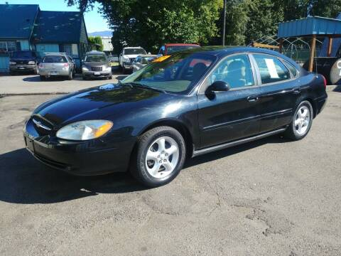 2001 Ford Taurus for sale at Low Auto Sales in Sedro Woolley WA