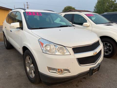 2010 Chevrolet Traverse for sale at BELOW BOOK AUTO SALES in Idaho Falls ID