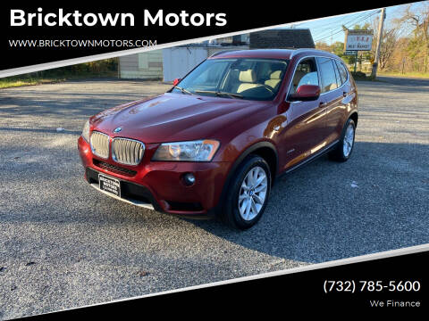 2011 BMW X3 for sale at Bricktown Motors in Brick NJ