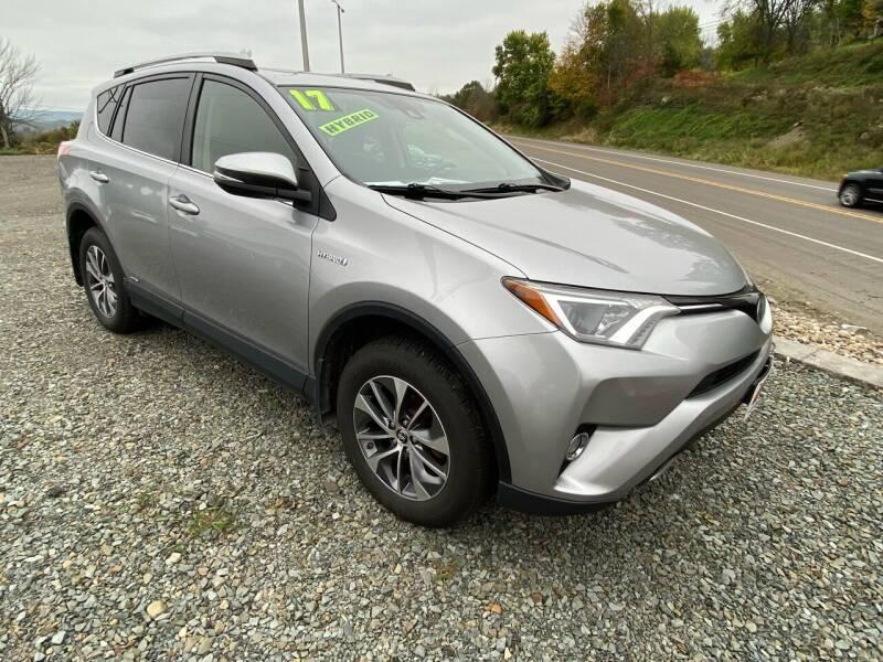 2017 Toyota RAV4 Hybrid for sale at ALL WHEELS DRIVEN in Wellsboro PA
