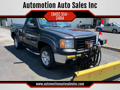 2011 GMC Sierra 1500 for sale at Automotion Auto Sales Inc in Kingston NY