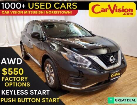2018 Nissan Murano for sale at Car Vision Buying Center in Norristown PA