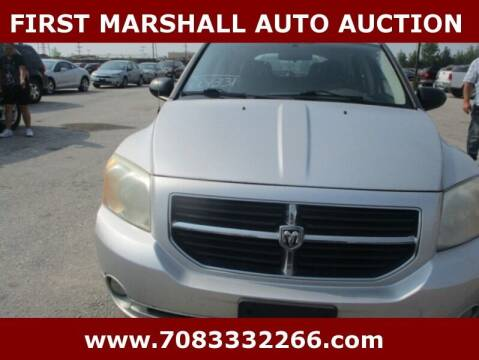 2009 Dodge Caliber for sale at First Marshall Auto Auction in Harvey IL