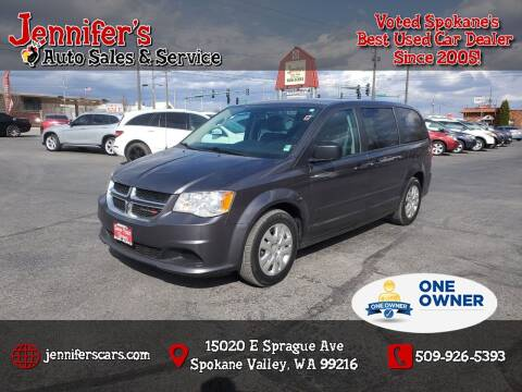 2016 Dodge Grand Caravan for sale at Jennifer's Auto Sales in Spokane Valley WA