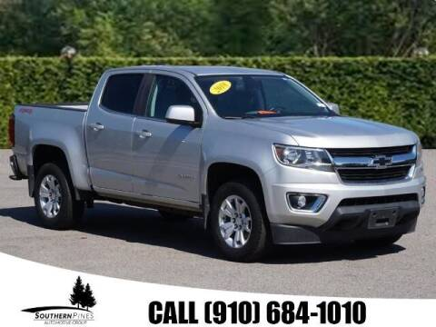 2018 Chevrolet Colorado for sale at PHIL SMITH AUTOMOTIVE GROUP - Pinehurst Nissan Kia in Southern Pines NC