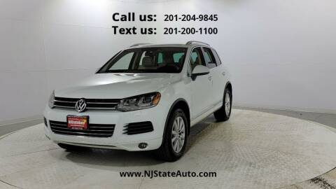 2014 Volkswagen Touareg for sale at NJ State Auto Used Cars in Jersey City NJ
