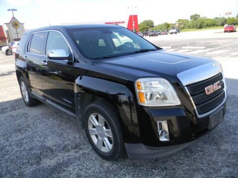2012 GMC Terrain for sale at Meridian Auto Sales in San Antonio TX