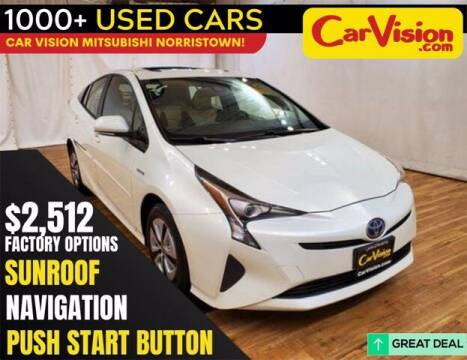 2017 Toyota Prius for sale at Car Vision Buying Center in Norristown PA