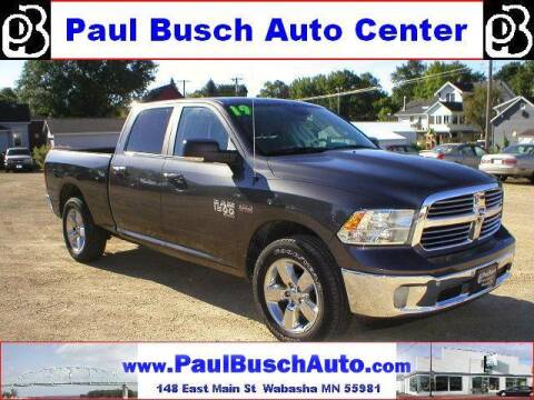 2019 RAM Ram Pickup 1500 Classic for sale at Paul Busch Auto Center Inc in Wabasha MN