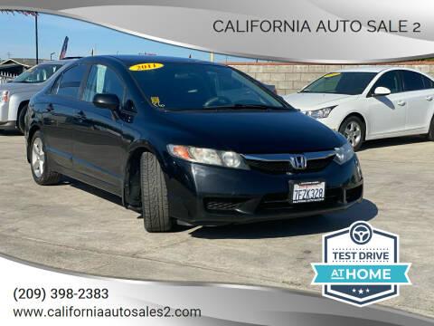 2011 Honda Civic for sale at CALIFORNIA AUTO SALE 2 in Livingston CA