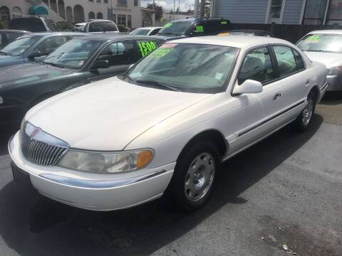 2000 Lincoln Continental for sale at American Dream Motors in Everett WA