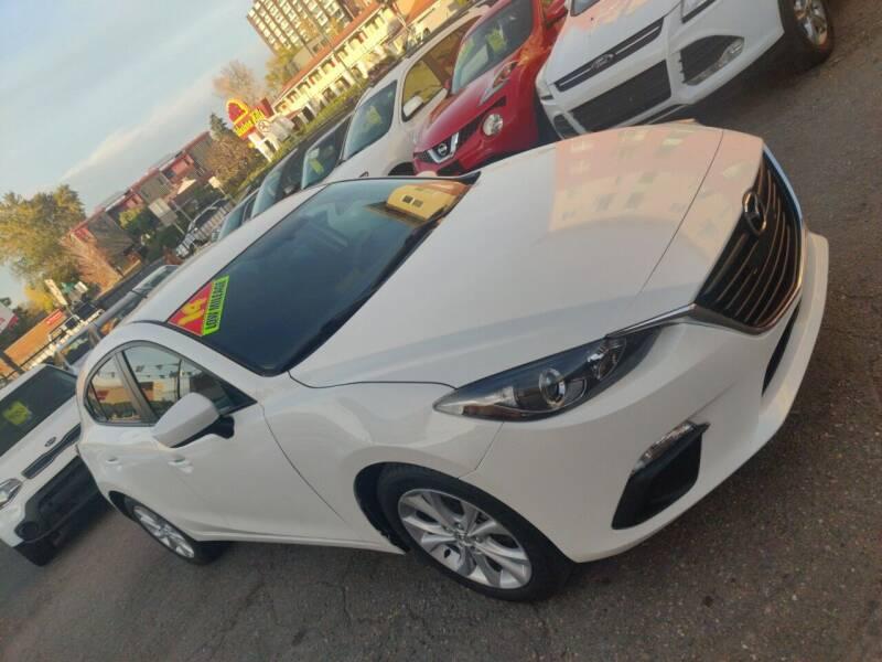 2014 Mazda MAZDA3 for sale at Sanaa Auto Sales LLC in Denver CO