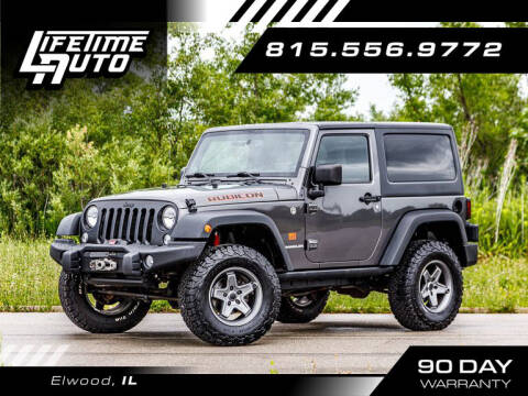 2014 Jeep Wrangler for sale at Lifetime Auto in Elwood IL