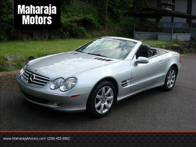 2003 Mercedes-Benz SL-Class for sale at Maharaja Motors in Seattle WA