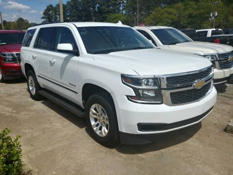 2017 Chevrolet Tahoe for sale at A & K Auto Sales in Mauldin SC