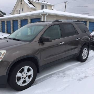 2011 GMC Acadia for sale at New Rides in Portsmouth OH