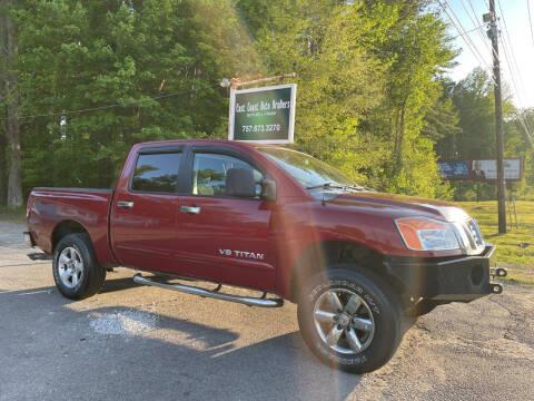 2008 Nissan Titan for sale at East Coast Auto Brokers in Chesapeake VA