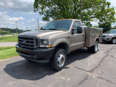 2003 Ford F-450 Super Duty for sale at Blake Hollenbeck Auto Sales in Greenville MI