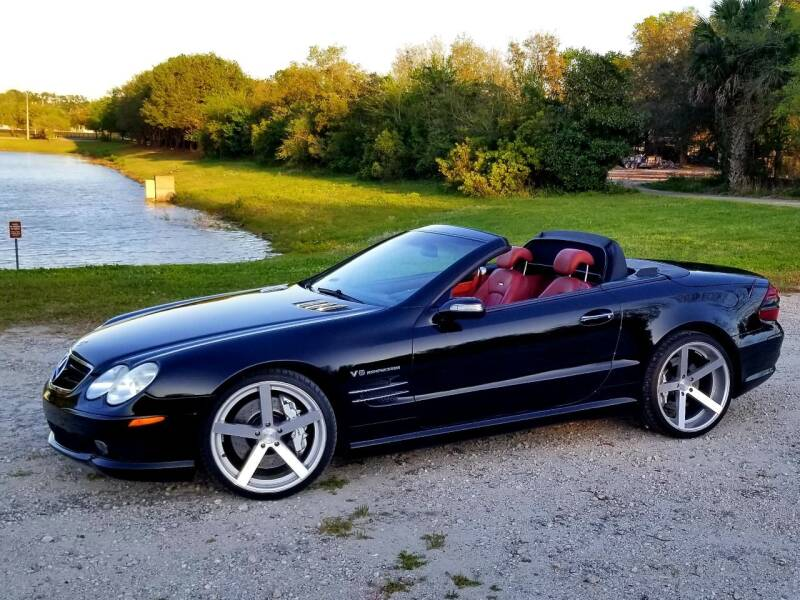 2004 Mercedes-Benz SL-Class for sale at Precision Auto Source in Jacksonville FL