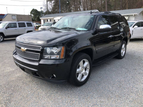 2008 Chevrolet Tahoe for sale at Robert Sutton Motors in Goldsboro NC
