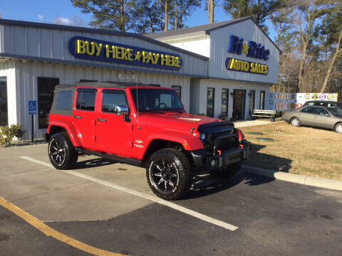 2010 Jeep Wrangler Unlimited for sale at Bi Rite Auto Sales in Seaford DE