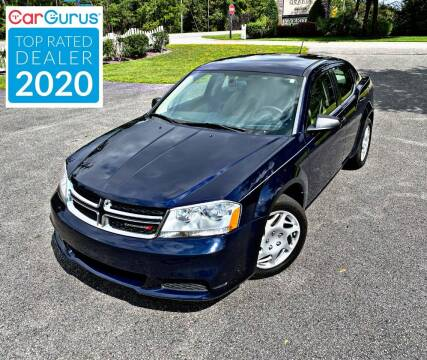 2013 Dodge Avenger for sale at Brothers Auto Sales of Conway in Conway SC