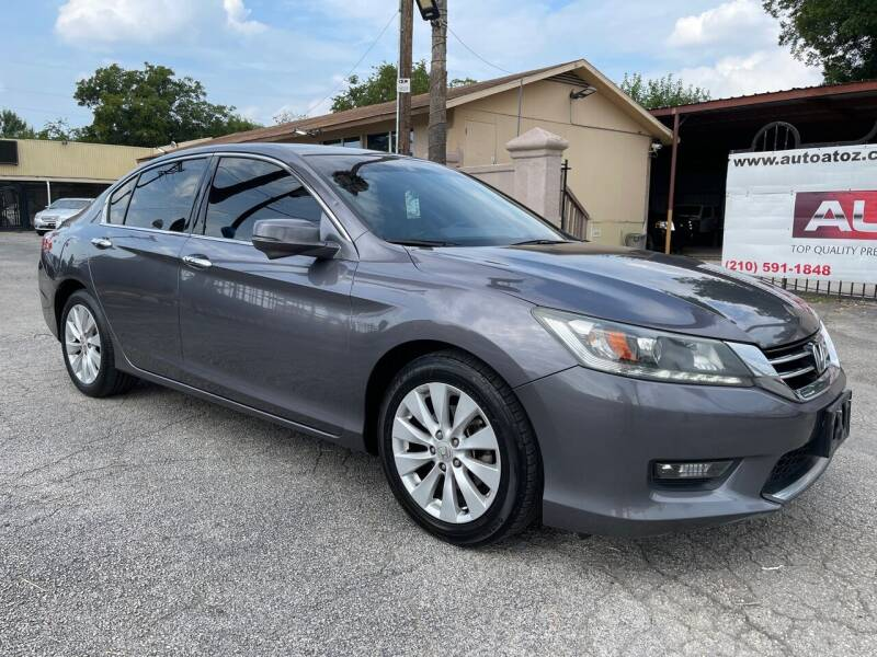 2015 Honda Accord for sale at Auto A to Z / General McMullen in San Antonio TX