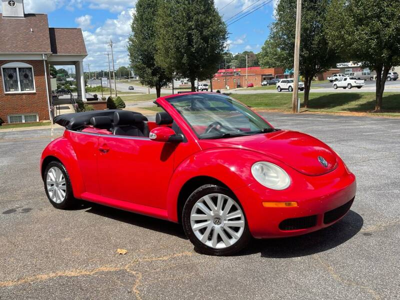 2008 Volkswagen New Beetle Convertible for sale in Newton, NC