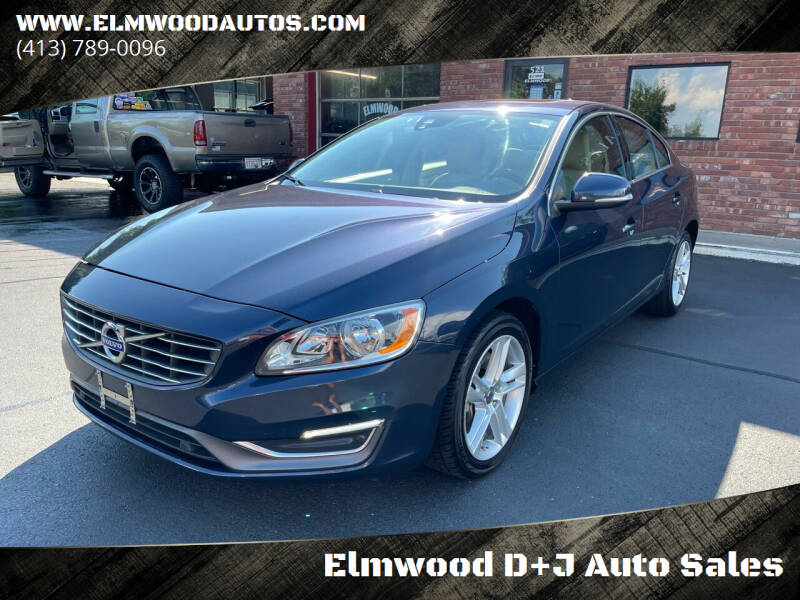 2014 Volvo S60 for sale at Elmwood D+J Auto Sales in Agawam MA