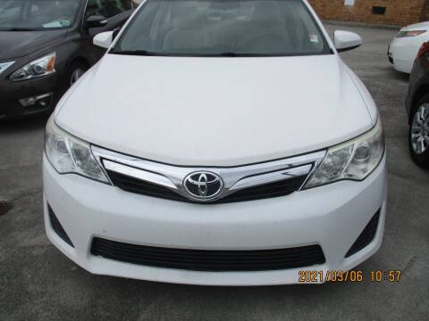 2013 Toyota Camry for sale at Atlantic Motors in Chamblee GA