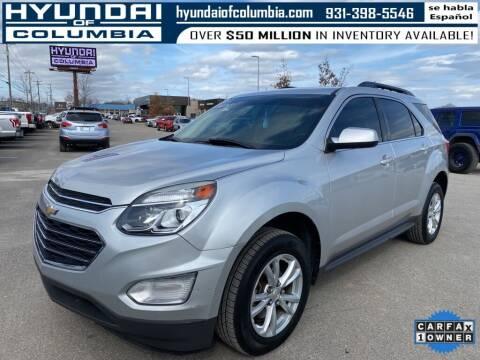 2016 Chevrolet Equinox for sale at Hyundai of Columbia Con Alvaro in Columbia TN