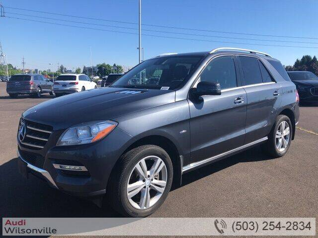 2012 Mercedes-Benz M-Class for sale in Wilsonville, OR